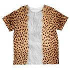 Halloween Cheetah Costume All Over Toddler T Shirt
