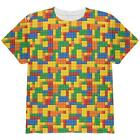 Halloween Building Blocks Costume All Over Youth T Shirt