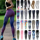 Women's Sports Gym Yoga Workout Jogging Running Leggings Elastic Fitness Pants