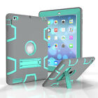 Luxury Hybrid Shockproof Heavy Duty Defender Stand Case Cover For iPad 2 3 4