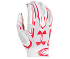 Under Armour F5 Men's Football Gloves White/ Red (1271183) New