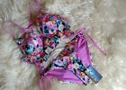 NEXT South Beach Bustier Bandeau Bikini Tankini Top High Waist Crossover