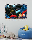 Lego Batman and Superman 3D Wall Decal Kids Sticker Mural Ar