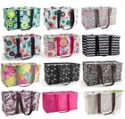 Thirty one Medium Large Utility Tote Bag 31 gift beach storage Check mate  more