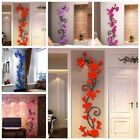 Us 3d Flower Decal Wall Sticker Diy Removable Art Mural Home Room Decor Sp
