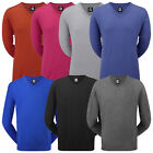 FootJoy Mens Lambswool V-Neck Sweater Golf Warm Pullover Jumper Top Long Sleeve