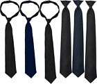 Uniform Necktie Official Issue Tie Law Enforcement Security Police, Clip-on/Hook