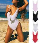 Women One-Piece Bikini Push-up Monokini Swimsuit Swimwear Beachwear Bathing UK
