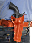 MASC LEATHER OWB PADDLE HOLSTER FOR UBERTI CATTLEMAN 1873, 357 MAG 4-3/4''Inch