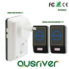28 Chime 100M  Touch Activated Wireless Battery Door Bell Chime Black Home Decor