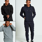 AARHON Mens Zipped Detail Ribbed Tracksuit  (TS312)