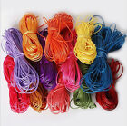 5 m 2 mm Roll Waxed Cord Thread String Diy Jewelry Accessories Many Colors