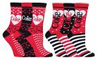 Coca Cola - 3 Pack Ladies Heart Striped Patterned Boxed Cotton Socks in Gift Box £9.99  on eBay