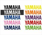 Yamaha Decals Different Colors And Sizes