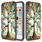 Apple iPod Touch 6th / 5th Case, Rubber Impact Dual Layer Shockproof Bumper Case