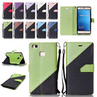 Fashion Flip Stand Magnetic Card Slot Wallet PU Leather Case Cover for Huawei LG