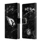 OFFICIAL NFL 2017/18 ARIZONA CARDINALS LEATHER BOOK CASE FOR SAMSUNG PHONES 3