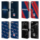 NFL 2017/18 NEW ENGLAND PATRIOTS LEATHER BOOK CASE FOR APPLE iPOD TOUCH MP3