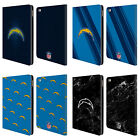 OFFICIAL NFL 2017/18 LOS ANGELES CHARGERS LEATHER BOOK CASE FOR APPLE iPAD