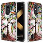 LG K20 Plus / LG LV5 Case, Dual Layer Shockproof Case + Glass Screen Protector