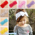 New Fashion Kids Baby Cute Lace Bowknot Headband Headwear Hair Accessories