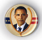 "* Vintage Style  ~ "" I WISH OBAMA WAS PRESIDENT "" ~ 2008 Campaign Button"