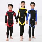 Kid Boy Girl Long Sleeve Sport Swimwear Coverall Swimsuit Surfing Diving Wetsuit