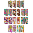 OFFICIAL SHELLY BREMMER GEOMETRIC LEATHER BOOK CASE FOR SAMSUNG GALAXY TABLETS