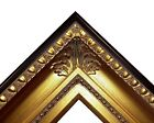 "4.25"" fancy Gold Leaf Ornate kinkade Oil Painting Wood Picture Frame 650G"