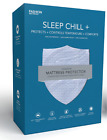 Fashion Bed Sleep Chill Plus mattress protector. Cooling, comfy, anti-dustmite