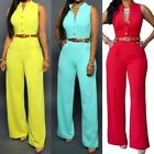 Sexy Womens Clubwear Playsuit Sleeveless Bodycon Party Jumpsuit&Romper Trousers