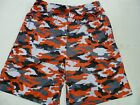 Men's Badger Camouflage Printed Shorts, Red