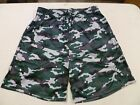 Men's Badger Camouflage Printed Shorts, Hunter
