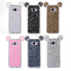 For Samsung Galaxy S8 Plus S7 Bling Diamond Rhinestones Mickey Mouse Case Cover