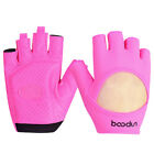 BOODUN Women Gym Yoga Training Fitness Exericse Cycling Half Finger Gloves S M