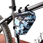 Bicycle Bike Cycling Outdoor Portable Front Bag Triangle Camo Military Pouch Bag