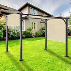 5' FT Waterproof Straight Side Hemmed Sun Shade Sail Canopy Awning Patio Cover