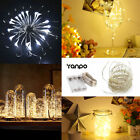 20 50 100 LED String Copper Wire Fairy Light Battery Xmas Party Fairy Decor Lamp