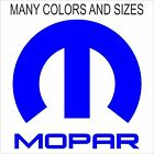 MOPAR decals, Many Colors and Sizes $5.0 USD on eBay