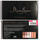 MARIA AYORA Eyeshadow Palette Powder 9 Colors Matte Smoky Earth Color Pearl QR43