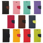 11 Colors New high quality Fancy Diary Wallet leather case for Motorola Various