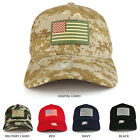 USA Flag Rubber Patch Embroidered 5 Panel Cotton Baseball Cap - FREE SHIPPING