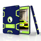 Shockproof Hybrid Rubber Bumper Case Cover For iPad 9.7 5th Gen A1822 A1823 2017