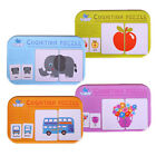 Внешний вид - Popular Baby Early Heads Training Puzzle Vehicl/Fruit/Animal/Life Cognitive Card
