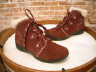 Earth Origins Cooper Burgundy Suede Water Resistant Ankle Boot NEW