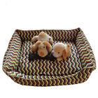 New Pet Dog Cat Indoor Soft Bed Sleeping Basket Bed Puppy Quality Mat Kennel