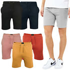 Mens Bottoms Knee length Fleece Jogging Gym Sweat Shorts Brave Soul Sports Pants