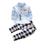New Baby Fashion Set Boys Clothes Shirt + Trousers Toddler Boys Clothing