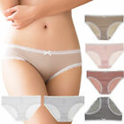 Sexy Womens Cotton Lace Panties Lingerie Seamless Underwear Knickers Underpants