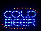 """nled004-b COLD BEER Bar OPEN LED Neon Light Sign 16"""" x 10"""""""
